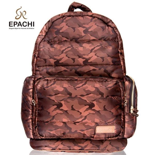 EPACHI WOW 時尚多功能雙拆卸黃金迷彩後背包(尺寸:L)