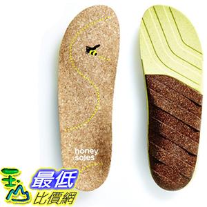 [美國直購] Honey Soles (SIZE A, Women s 4.5 - 6 USA)軟木鞋墊 Natural Cork Shoe Insoles