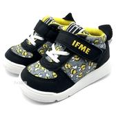 《7+1童鞋》日本 IFME  透氣 魔鬼氈  寶寶機能鞋 學步鞋 D403  黑色
