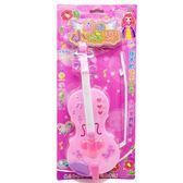 全館83折電動音樂仿真魔法小提琴公主 女孩益智 音樂燈光樂器吉他兒童玩具