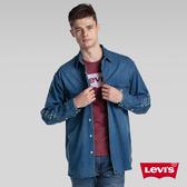 Levis 男款 牛仔襯衫 / Oversize 寬鬆版型 / CoolMax 排汗機能 / 雙口袋