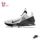 NIKE籃球鞋LEBRON 男鞋 氣墊籃球鞋 高筒籃球鞋 運動鞋 籃球鞋 耐磨 P7204#黑白◆OSOME奧森鞋業