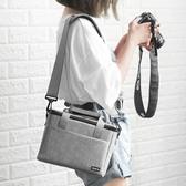 相機包包納單反相機包數碼攝影鏡頭包側背包便攜佳能EOS尼康NIKON索尼微單包 榮耀3C