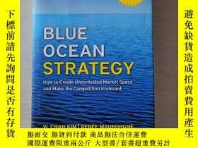 二手書博民逛書店Blue罕見Ocean Strategy:How to Create Uncontested Market Spa