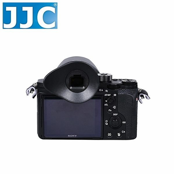 又敗家JJC索尼Sony副廠眼罩ES-A7眼罩含大橡膠眼罩相容FDA-EP16眼罩A7眼罩A7S眼罩A7R眼罩II觀景窗接目器