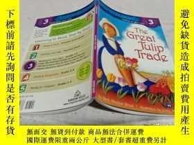 二手書博民逛書店The罕見Great Tulip Trade (Step into Reading, Level 3) [郁金香交