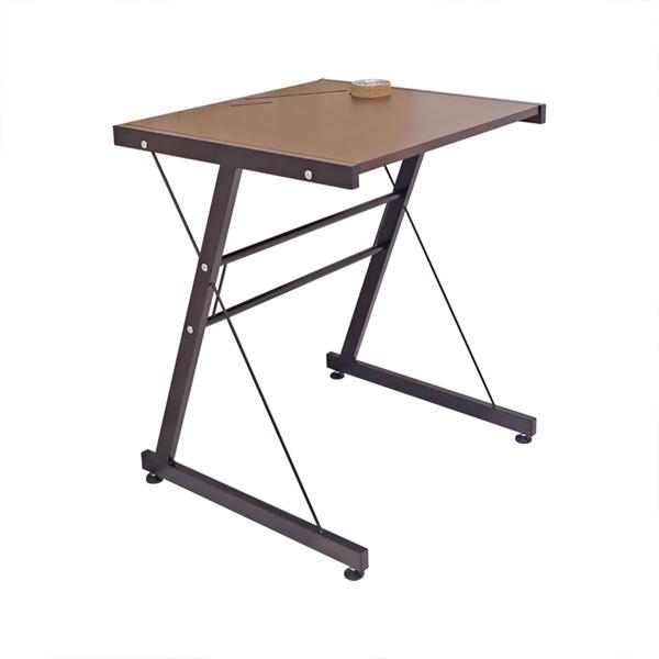 【品樂生活】小款 Z型多功能內嵌支架工作桌 (兩款可選/書桌/茶几/電腦桌/餐桌)