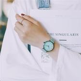 女生可愛休閒大氣手錶百搭小清新中學生韓版簡約森系森女款學院風 聖誕裝飾8折