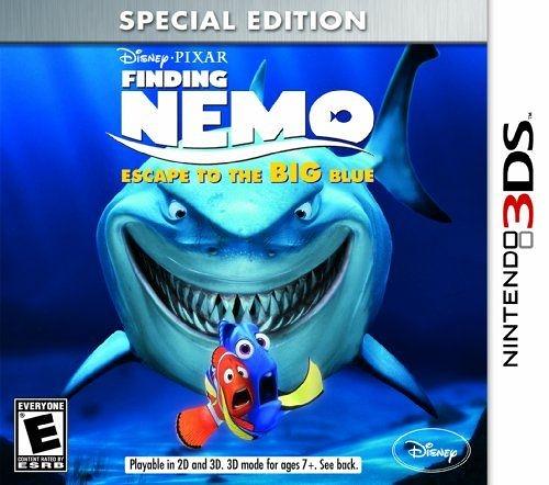 3DS Finding Nemo: Escape to the Big Blue 海底總動員:逃回大藍海(美版代購)