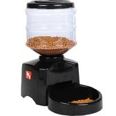 寵物自動餵食器智能狗糧餵狗器寵物貓糧定時投食機投食器貓咪食盆推薦