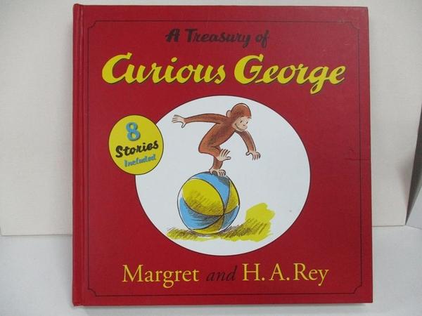 【書寶二手書T1/兒童文學_D29】A Treasury Of Curious George_Rey
