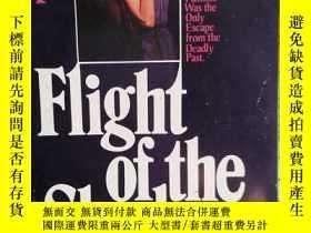 二手書博民逛書店Flight罕見of the shadows 英文原版口袋書Y1