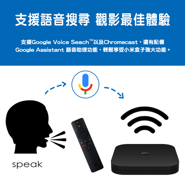 【coni shop】Mi Box S 小米盒子 現貨 當天出貨 免運 台灣賣家 台版 小米電視盒 機上盒 電視機