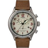 TIMEX 刻劃時代計時皮帶腕錶-TW2R38300