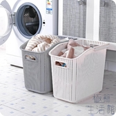 塑料手提臟衣籃浴室洗衣籃臟衣服收納筐玩具收納簍【極簡生活】