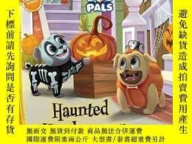 二手書博民逛書店Puppy罕見Dog Pals Haunted Howl-oween: With Glow-in-the-Dark