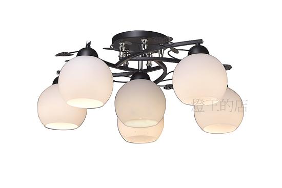 燈飾燈具【燈王的店】設計師新款 半吸頂燈5+1燈 附IC (DM商品) ☆1286/5+1