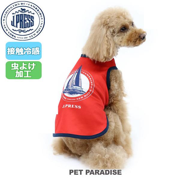 【PET PARADISE 寵物精品】JPRESS 帆船涼感背心(紅/深藍) (3S/DSS) 狗衣服 寵物衣服《SALE》