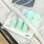 ◄ 生活家精品 ►【P374】印花旅行收納分裝五件套 套裝 透明 便攜 旅遊 補水 美容 膏瓶