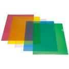 【奇奇文具】自強牌STRONG 001 L型易見夾/ 文件套/L型文件夾 (12個/包)