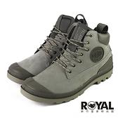 Palladium Pampa 灰綠色 麂皮 防水 軍靴 男女款NO.B1770【新竹皇家 76472-065】