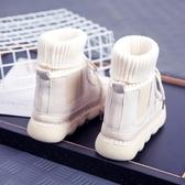 馬丁靴馬丁靴女新款冬季CHIC學生韓版女靴子文藝森系毛線口短靴 唯伊時尚