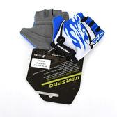 *阿亮單車* MARSPRO 專為兒童設計的手套,吸震,透氣,藍白色《C80-601》