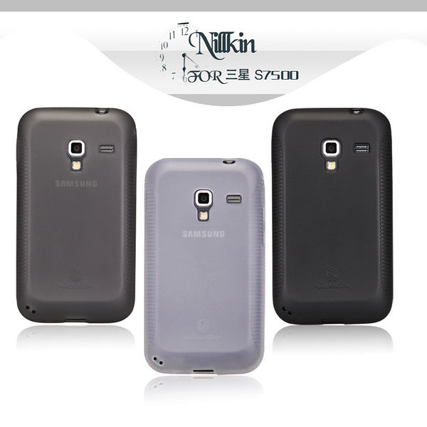 ☆愛思摩比☆~Samsung S7500 Galaxy Ace Plus 專用NILLKIN 超級磨砂 TPU 彩虹套 果凍套