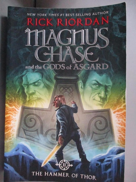 【書寶二手書T2/原文小說_BK2】Magnus Chase and the Gods of Asgard, Book 2 The Hammer of Thor_Rick Riordan