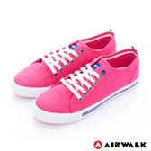 美國AIRWALK- U.S.A.夏日彩漾綁帶帆布鞋(女)  桃紅 390元起