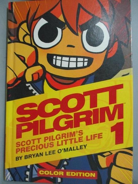 【書寶二手書T3/原文小說_XDK】Scott Pilgrim 1: Precious Little Life_O'Ma