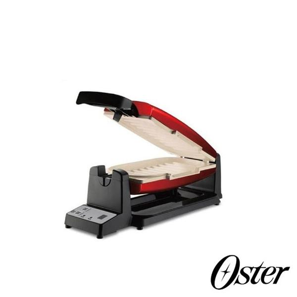 OSTER DuraCeramic 不沾黏7分鐘多功能陶瓷烤盤/三明治機 買就送 美國美亞保溫瓶  送完為止