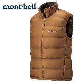 丹大戶外 日本【mont-bell】Light Alpine 男款羽絨背心/使用800Fill高規格羽絨/保暖超輕量 1101432COFE 咖啡