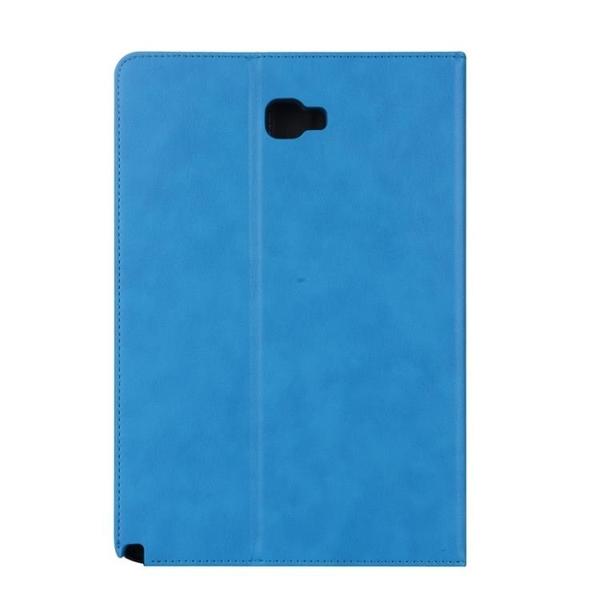 Samsung Tab S2 S3 S4 S5e S6 8.0 9.7 10.5 LTE 保護套牛皮仿真皮翻蓋皮套平板套