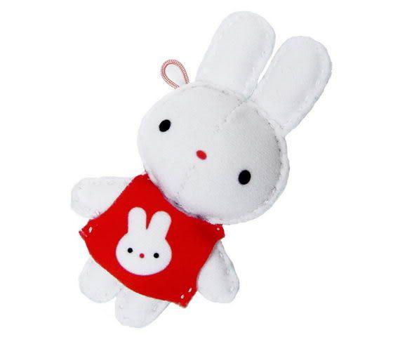 ☆猴子設計☆ T恤小兔布偶明信片-明信片可以DIY成一個可愛布偶-可加購材料包