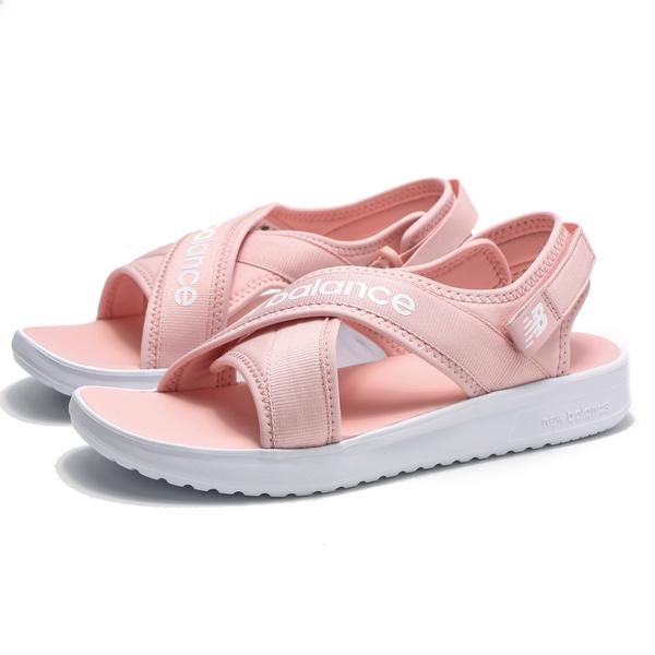 NEW BALANCE NB650 粉紅 交叉 涼鞋 休閒鞋 中童 (布魯克林) YO650AE