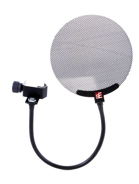 【音響世界】英國sE Studio MIC Pop Screen專業金屬網噴麥罩