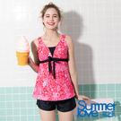 【Summer Love 夏之戀】加大碼長版三件式泳裝(S19705)