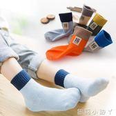 兒童襪子春秋純棉男童女童中筒襪1-3-5-7-9歲小男孩全棉學生全棉