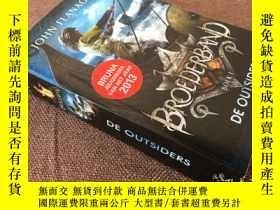 二手書博民逛書店De罕見Outsiders: Broederband Boek