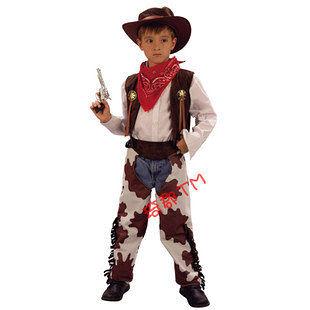 COS 萬聖節服裝 小男孩牛仔套裝