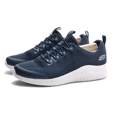 SKECHERS ULTRA FLEX 2.0 深藍 網布 慢跑鞋 男 (布魯克林) 52767WNVY