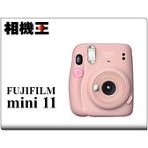 Fujifilm Instax Mini 11 緋櫻粉 拍立得相機 公司貨