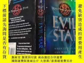 二手書博民逛書店evil罕見star: 邪惡之星.Y200392