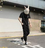 夏季短袖polo衫男士 翻領印花潮流韓版寬鬆打底純棉T恤上衣 東京衣櫃