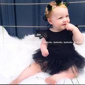 荷葉邊薄紗蓬蓬裙 連身女童裝  寶寶短袖包屁衣 - SK063 好娃娃