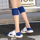 透明襪子女小腿襪夏季薄款水晶襪ins潮長襪中筒襪玻璃絲襪及膝襪