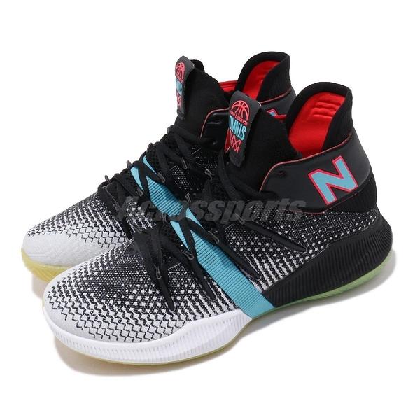 New Balance 籃球鞋 OMN1S Baited 黑 藍 女鞋 運動鞋【ACS】 WBOMN1SBB