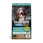 寵物家族-[輸入NT99享9折][效期20210826] 紐頓Nutram-I20三效強化犬羊肉糙米2kg