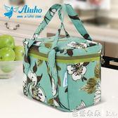 保溫包飯盒袋子帶飯加厚防水便當包便當袋飯盒包手提袋『芭蕾朵朵』